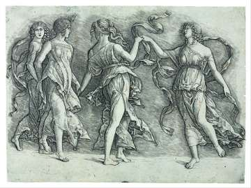 Zoan Andrea, Four Dancing Muses